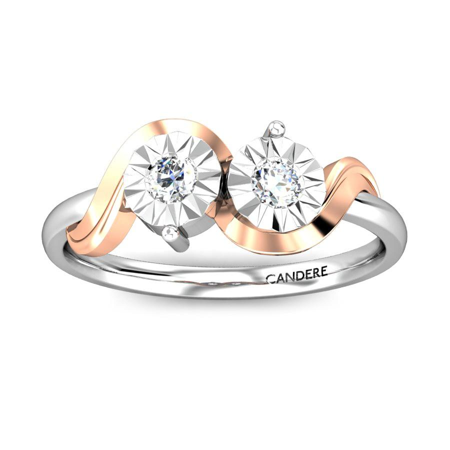 86fa5c6846 Couple Miracle Plate Diamond Ring · Couple Miracle Plate Diamond Ring ...