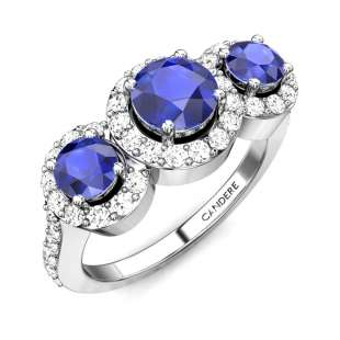 Magnificent Iolite Ring