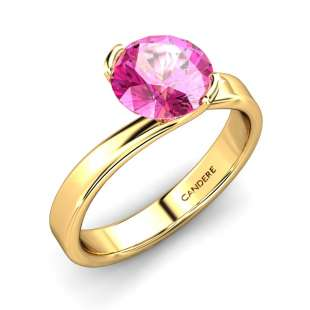 Gemstone Engagement Ring | Candere com - A Kalyan Jewellers Company