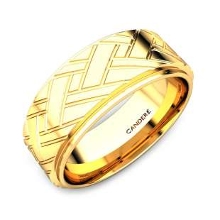 11cf72d0ff Buy Gold Ring For Men | 60+ Latest Gold Rings Design Online in India ...