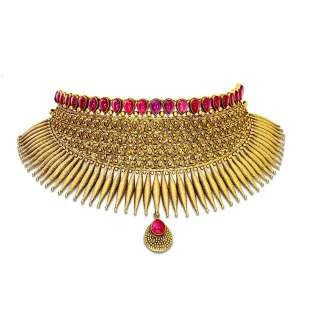 Handcrafted Antique Jewellery   Mudhra Collection   Candere
